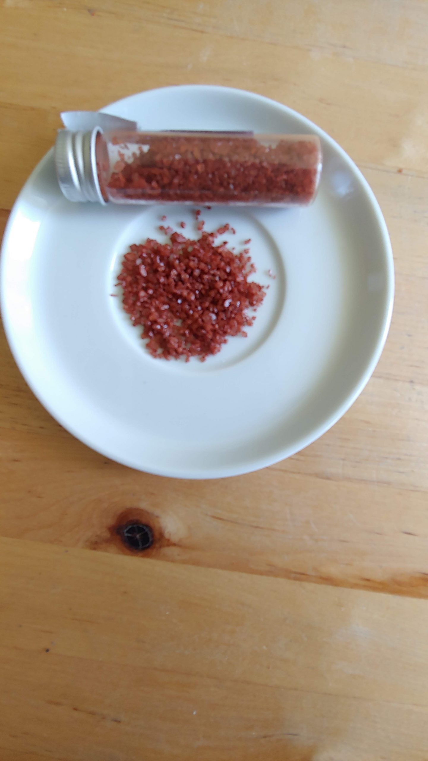 red mineral rich salt