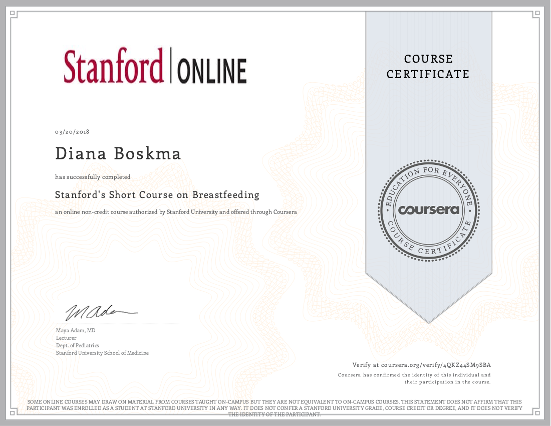 Breastfeeding Stanford