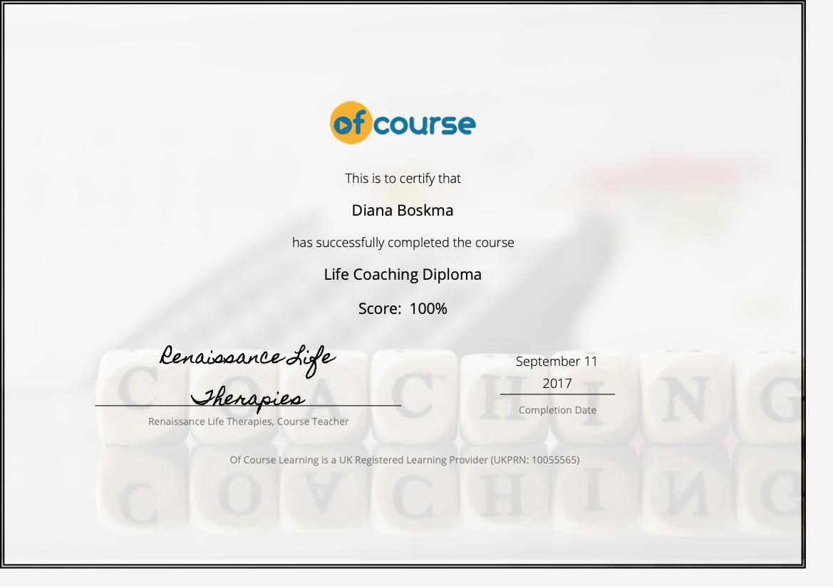 Life Coach Basic Life Therapies