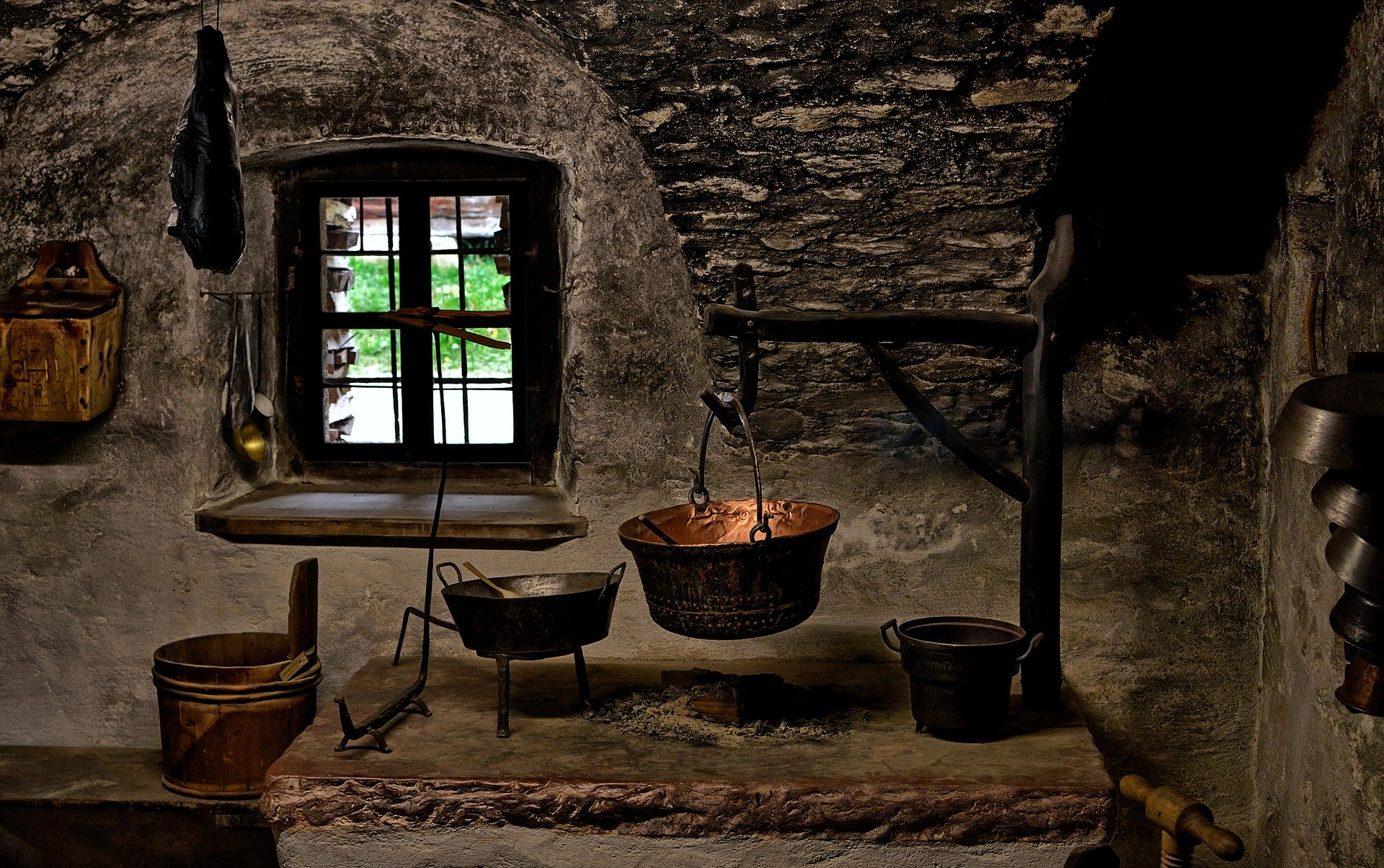Historical kitchen